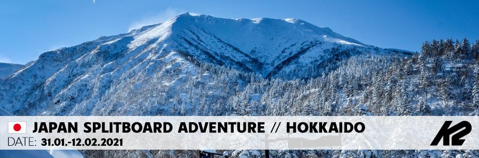 Splitboard Adventure Hokkaido with Chris Schnabel
