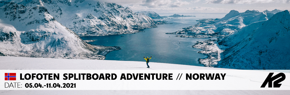 Lofoten Splitboard Adventure Norwegen mit Chris Schnabel